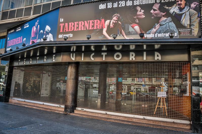 Theate Victoria, Barcelona