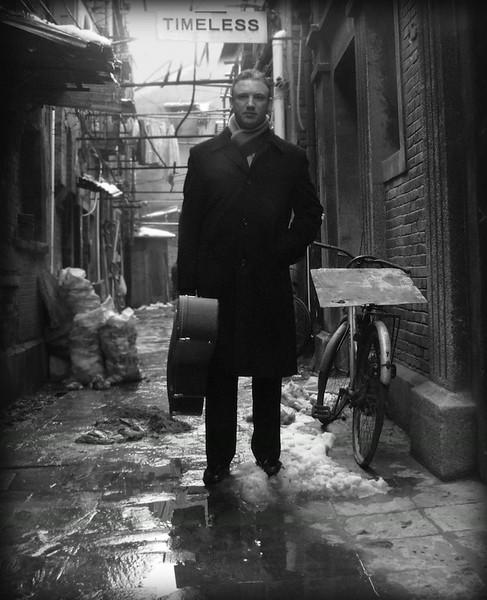 Gypsy Jazz Guitarist Doug Martin, 2008 Shanghai