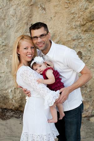 V Family Portraits - El Matador Beach, Malibu, CA