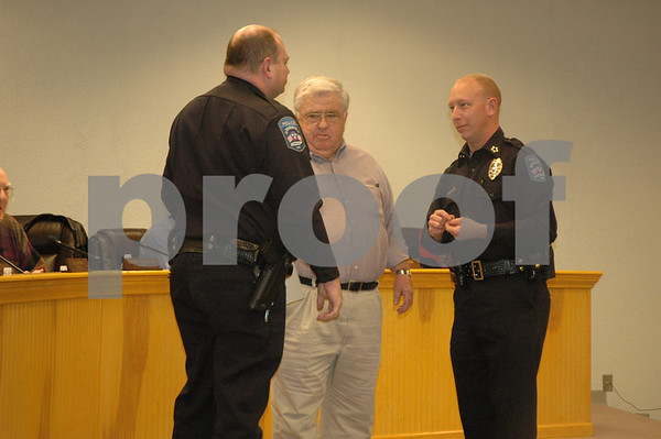 Erwin Police Officers Ceremony - January 2009