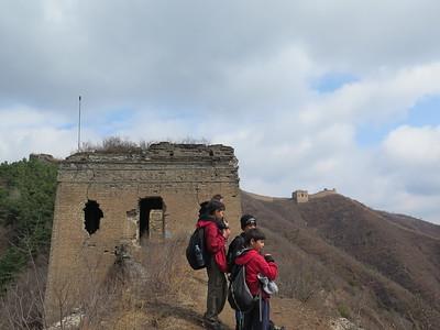 hike the Gubeikou great wall