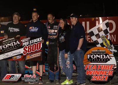 Fonda Speedway - 5/15/21 - Tonya Spicci