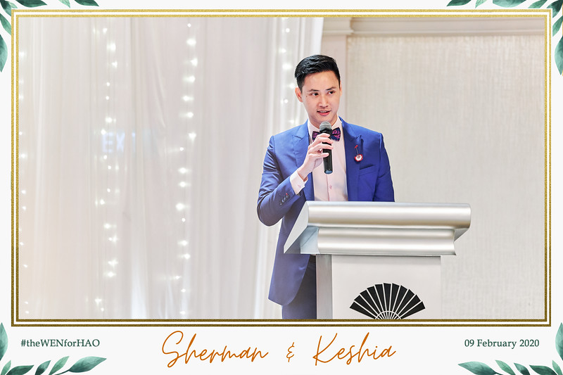 Wedding of Sherman & Keshia | © www.SRSLYPhotobooth.sg
