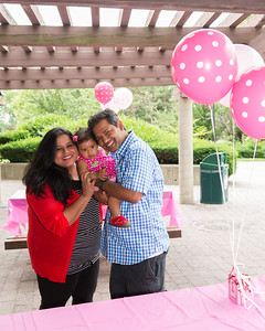 Aadya's First Birthday July 2014