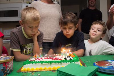 Owen and Josh Birthday 10.18.14