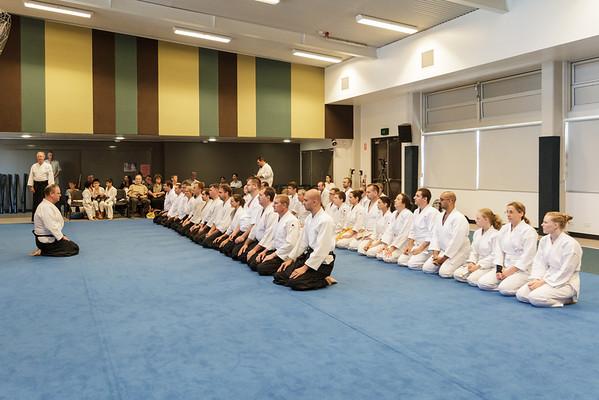 Williams sensei demonstration class