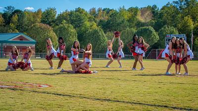 2016 BHS JV Football Cheerleaders