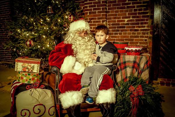 Santa at Depot - Noah Frost