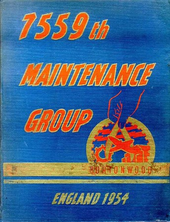 Burtonwood 7559th Maint Grp 1954