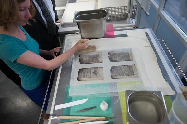 Restaurierung der Aschebücher
