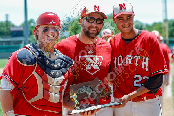 North Attleboro-Oliver Ames Baseball - 06-16-18