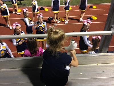 STA Cheerleading JV Football 2015