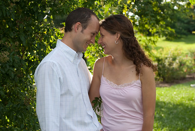 Jen and Corey Engagment Shoot 7.18.09