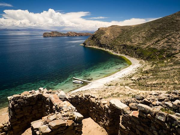Isla del Sol and Lake Titicaca