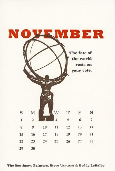 November, 2020, Southpaw Printers
