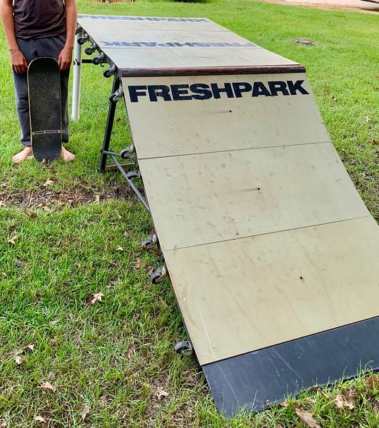 FreshPark Ramp For sale $775.00. Not : SkateBoard , BMX Bike ,  Scooter ,