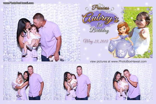 Aubrey's 1st Birthday