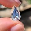 3.33ct Pear Shaped Rose Cut Diamond 2