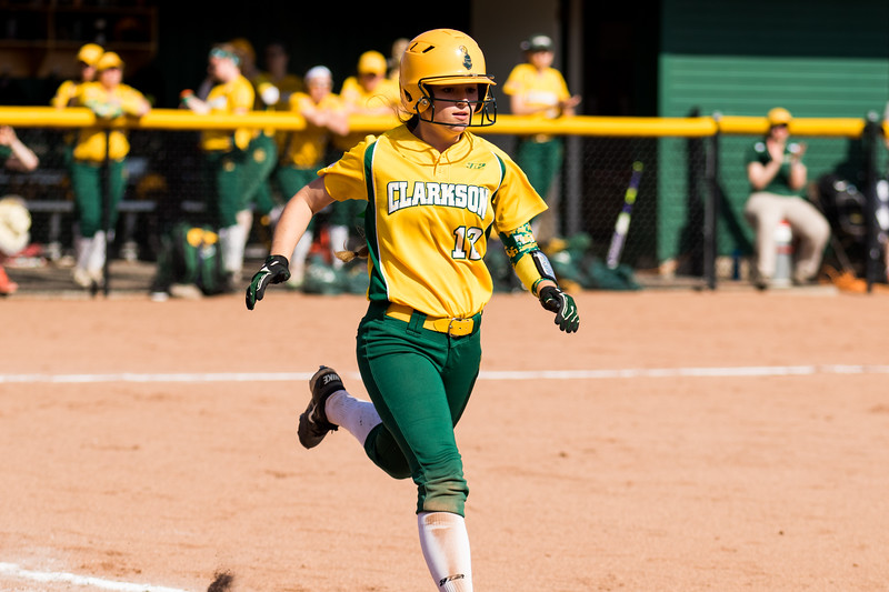 Clarkson Athletics: Women Softball vs. University of Rochester. Game 2. Clarkson win 6 to 3