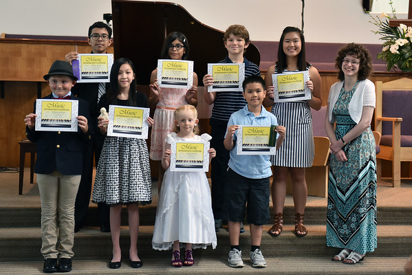 Piano Recital May 2016