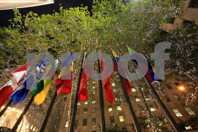 NYC Rockefeller Plaza flags 6536.jpg
