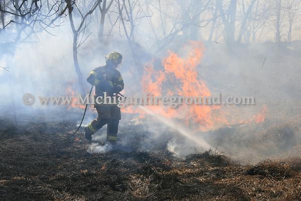 3/11/12 - Mason grass fire, 740 Plains Rd