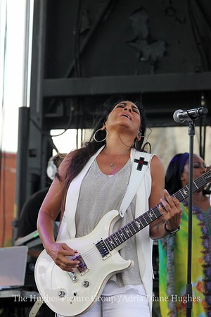 The Queen of percussion, singer, author, and actress, Sheila E performs Tribute To Prince Live In Philadelphia