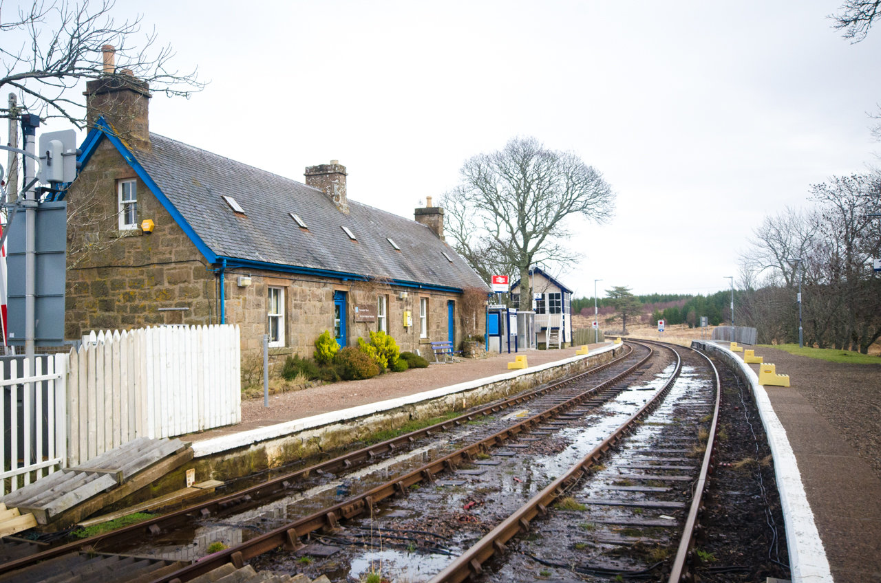 NC500 - Thurso to Durness - Forsinard Railway Station