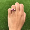 3.21ctw Burma N-Heat Ruby Ring, by Mellerio 19