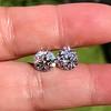 4.08ctw Old European Cut Diamond Pair, GIA I VS2, I SI1 13
