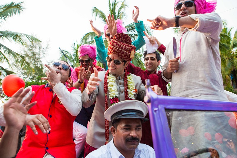 Pritha Agarwal and Haresh Kishor destination wedding is at The Leela Palace in Kovalam on October 13, 2014.  The Sangeet was held on October 12, 2014.