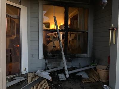 South Yosemite Street Apartment Fire
