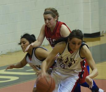 Girl's Varsity Basketball vs. Hico