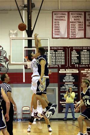 Danville v Tri-West Boys Basketball Reg Season
