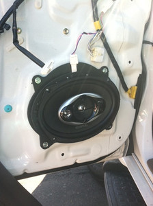 2005 Toyota 4Runner Front Door Speaker Installation