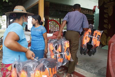 Lifejackets donation