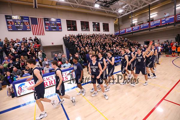 2020-2-7 WHS Boys Basketball vs Exeter