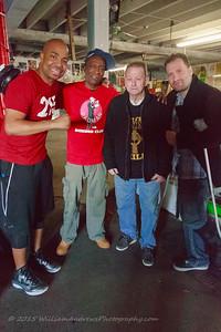 Creed Movie QDeezy of Fox 29 Philadelphia Front Street Gym