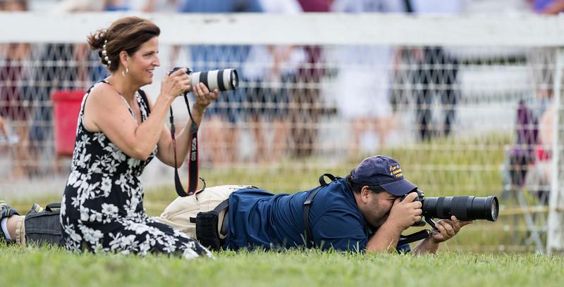 Scott Serio and Gwen Davis at Ky Downs 9.08.18.