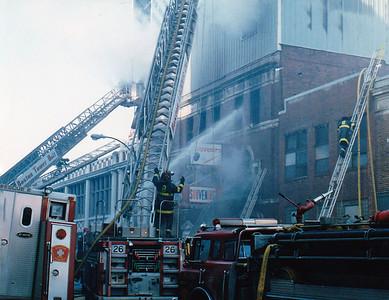 Boston, MA 12/1988 - Lansdowne St