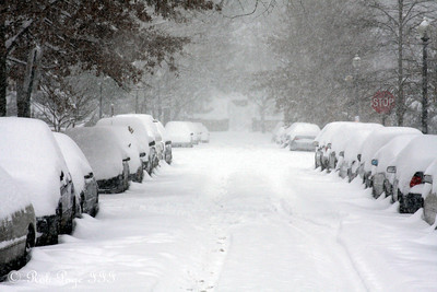 Washington DC Snowstorm - 2009