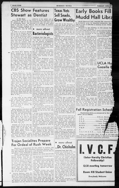 Summer News, Vol. 1, No. 24, August 27, 1946