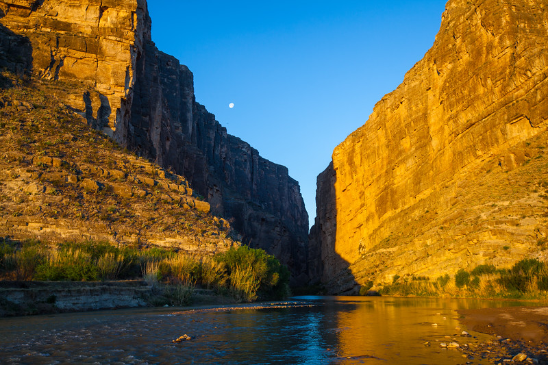 Entrance to Santa Elena Canyon