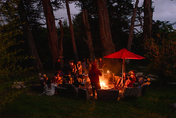 Full moon BBQ party