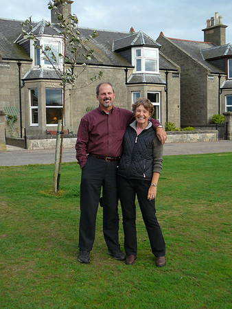 Scotland: Our Traveling Partners, Kathy and Rich