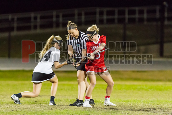 Lake Highland Prep Highlanders @ Olympia Titans Girls Varsity Lacrosse - 2016