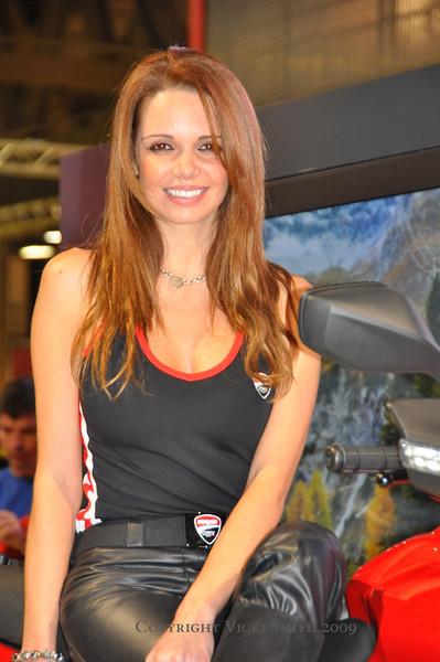 Milan Motorcycle Show (EICMA) November 2009 Milan Italy