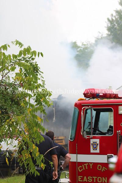 Garage Fire 9/13/2014