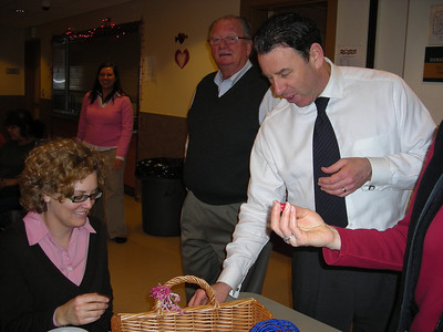 2008 Valentine's Day with Seattle Rotary at Angeline's