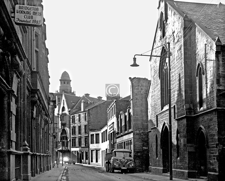 Landressy St from the London Rd end.    January 1974